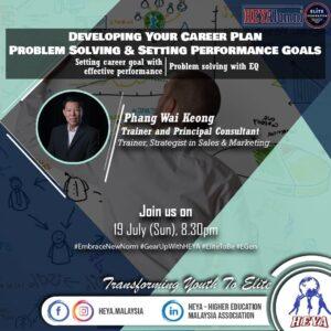 Developing career plan