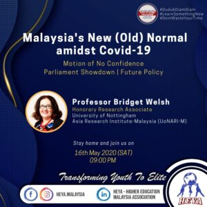 Malaysia New Normal amidst COVID19