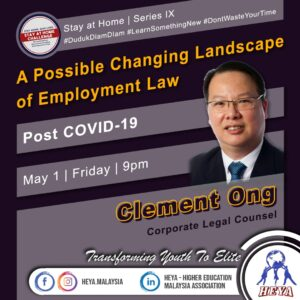 Possible changing lanscape of emplyment law