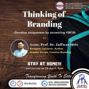 Thinking of Branding